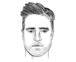 mens hairstyles high cheeks how to choose the right haircut for your face shape fashionbeans