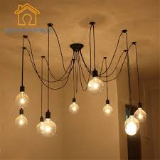 Retro Hanging Light Fixtures Diy Pendant Lights Modern Nordic E27 Retro Hanging Ls Edison