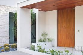 modern house door century modern house in california