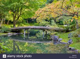 Botanical Gardens Ubc by Bridge Over Pond Nitobe Memorial Garden A Traditional Japanese