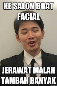 Salon Meme - ke salon buat facial jerawat malah tambah banyak acne chinese