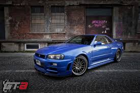 nissan sports car blue paul walker u0027s nissan skyline gt r from fast u0026 furious for sale