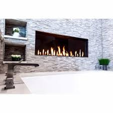 modern linear gas fireplaces contemporary ams fireplace