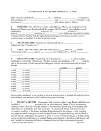 kansas rental lease agreement templates legalforms org
