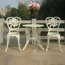 Metal Garden Chairs And Table Metal Garden Furniture Promotion Shop For Promotional Metal Garden