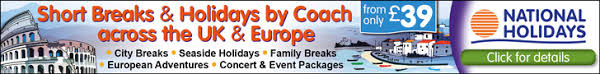 national holidays inclusive coach holidays uk and europe