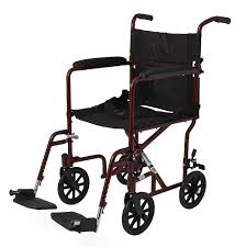 Transport Walker Chair Aluminum Transport Chair With 8