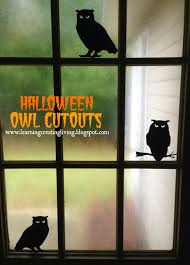 halloween owl cutouts halloween door decorations using owls