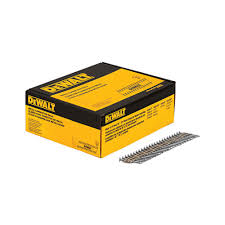 Coil Nails Home Depot by Dewalt 1 1 2 In X 0 131 In Metal Connecting Nails 2000 Per Box