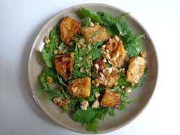 cuisine celeri caramelized celeriac with walnuts and greens the everyday chef
