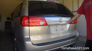 how to replace rear door tailgate handle button toyota sienna