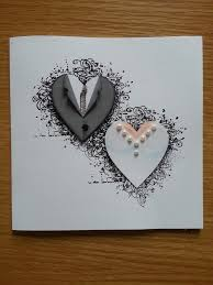 handmade cards simple ideas to make handmade wedding cards for everyone