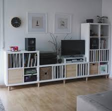 six ikea trones shoe cabinets are arranged to create an