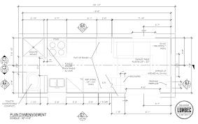 Plan De Travail Bois 3m by Tiny House Lumbec Le Projet 2015