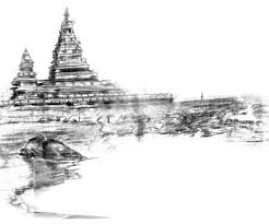 a mahabalipuram sketch over 3 decades old remy francis via