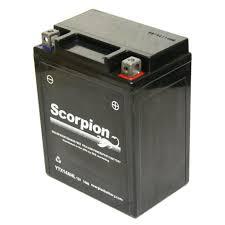 ytx14ahl bs battery scorpion 12 volt motorcycle batteries