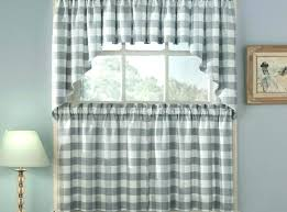 Cheap Kitchen Curtains Kitchen Curtains Striped Lined Curtains X Brown
