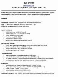 highschool resume template resume template for college student 99 images cv template