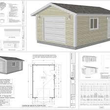 24 x 24 garage plans free garage plans g521 16 x 24 x 8 garage plans pdf and dwg