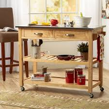 kitchen island with stainless steel top three posts byrnedale kitchen island with stainless steel top