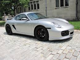 porsche cayman silver 2007 porsche cayman with teachart parts rare cars for sale