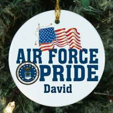 american hero us air force christmas tree ornament military