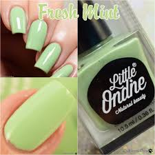 little ondine water based nail polish polish and paws