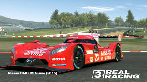 nissan nismo race car nissan gt r lm nismo 2015 real racing 3 wiki fandom powered