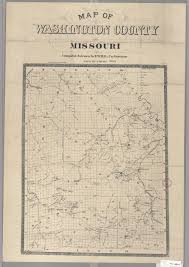 County Map Of Missouri Maps Of Missouri