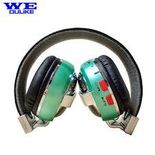 headband mp3 aliexpress buy wedulike leather headband stereo metal