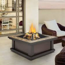 Wood Firepits Pits Outdoor Heating The Home Depot