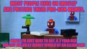 Spiderman Desk Meme - lego spiderman desk also alligator memes are going to take over