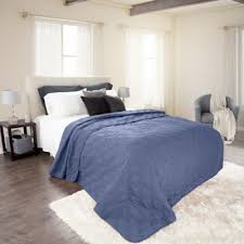 Navy Blue Coverlet Queen Buy Navy Blue Quilt From Bed Bath U0026 Beyond