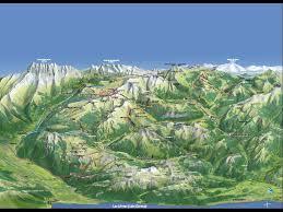 Alps Mountains Map Morzine Mtb Maps Of Mtb Area In The Alps Morzine Avoriaz