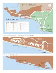 Mexico Beach Map by Area Maps Of Rocky Point Maps Of Puerto Penasco Mexico Maps Of