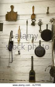 Old Fashioned Kitchen An Old Fashioned Cast Iron Frying Pan Stock Photo Royalty Free