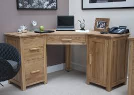 Corner Oak Desk Opus Solid Oak Large Corner Computer Desk Oak Furniture Uk