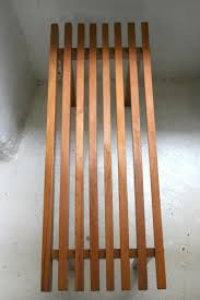 spanish wooden slats side table 1950s for sale at pamono