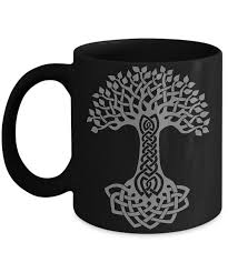 Design Mug Irish Celtic Design Mug Tree Of Life