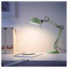 forså work lamp green ikea