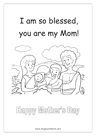 free coloring sheets mother u0027s day megaworkbook