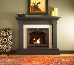 kenwood wood mantel by heat n glo dark stain fireplace mantels