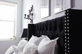 Glam Bedroom Decor Black U0026 White Bedroom Decor Reveal