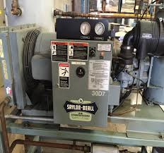 lot 21 saylor beall rsd 30 30hp industrial air compressor with