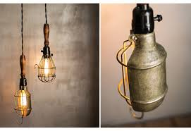Trouble Light Light Vintage Light Fixture Vintage Lighting