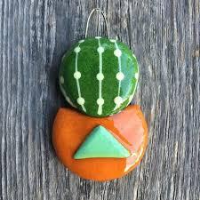 liz s boho collaboration single barrel cactus ornament