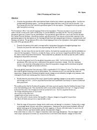 studyguide globalwarm chlorofluorocarbon global warming