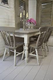 Painted Dining Table Ideas Best 25 Paint Dining Tables Ideas On Pinterest Chalk Inside