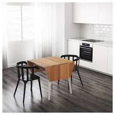 Bamboo Dining Room Table by Ikea Ps 2012 Drop Leaf Table Bamboo White 74 106 138x80 Cm Ikea