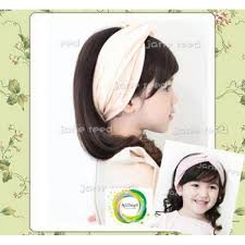 korean headband korean reed knotted turban elastic wide headband